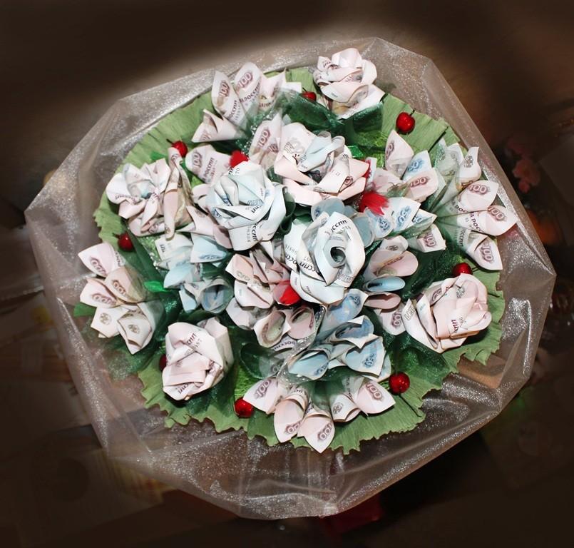 Цветы с деньгами своими руками 503
