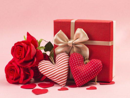 Подарки ко Дню влюбленных