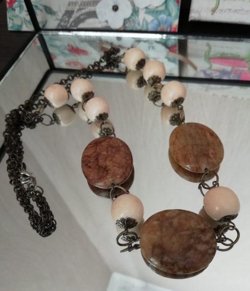 Бусы ручной работы из натурального камня яшма